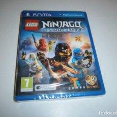 Videojuegos y Consolas PS Vita: LEGO NINJAGO LA SOMBRA DE RONIN PS VITA PAL ESPAÑA NUEVO PRECINTADO. Lote 243482770