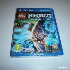 Videojuegos y Consolas PS Vita: LEGO NINJAGO NINDROIDS PS VITA PAL ESPAÑA NUEVO PRECINTADO. Lote 243482970