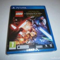 Videojuegos y Consolas PS Vita: LEGO STAR WARS EL DESPERTAR DE LA FUERZA PS VITA PAL ESPAÑA NUEVO. Lote 243483265