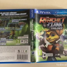 Videojuegos y Consolas PS Vita: THE RATCHET AND CLANK TRILOGY SONY PSVITA VERSION PAL ESPANA COMPLETA. Lote 243658275