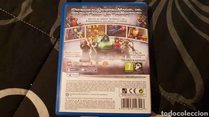 Videojuegos y Consolas PS Vita: PSVita - Lego Marvel Super Heroes El universo en peligro - Foto 4 - 244455350