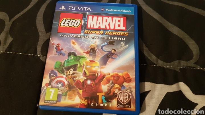 PSVITA - LEGO MARVEL SUPER HEROES EL UNIVERSO EN PELIGRO (Juguetes - Videojuegos y Consolas - Sony - PS Vita)