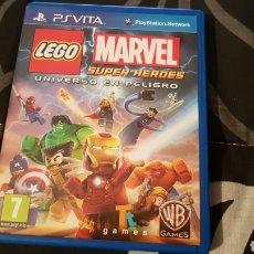 Videojuegos y Consolas PS Vita: PSVITA - LEGO MARVEL SUPER HEROES EL UNIVERSO EN PELIGRO. Lote 244455350