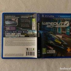 Videojuegos y Consolas PS Vita: WIPEOUT 2048 PLAYSTATION VITA PSVITA PAL ESPANA COMPLETO. Lote 252302765