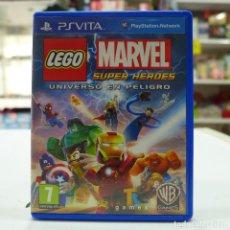 Videojuegos y Consolas PS Vita: PS VITA LEGO MARVEL SUPER HEROES UNIVERSO EN PELIGRO. Lote 252720765