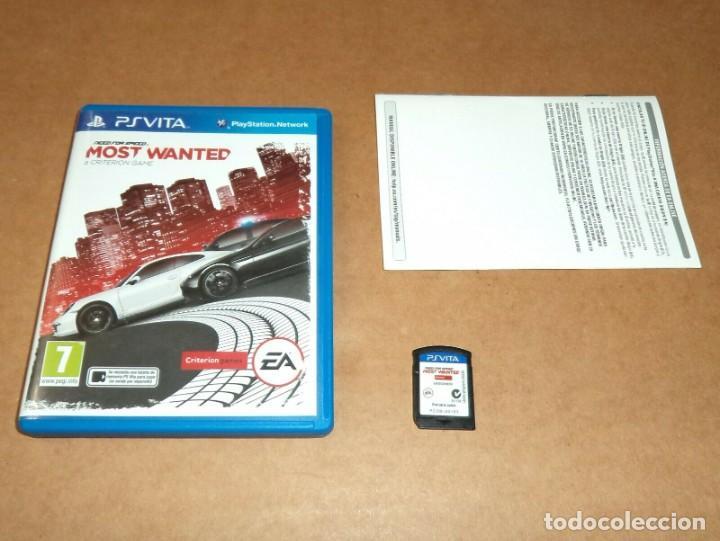 NEED FOR SPEED : MOST WANTED PARA SONY PSVITA / VITA , PAL (Juguetes - Videojuegos y Consolas - Sony - PS Vita)