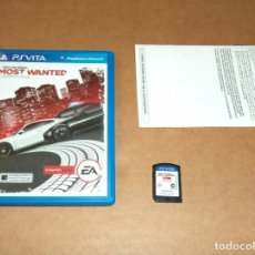 Videojuegos y Consolas PS Vita: NEED FOR SPEED : MOST WANTED PARA SONY PSVITA / VITA , PAL. Lote 253180385
