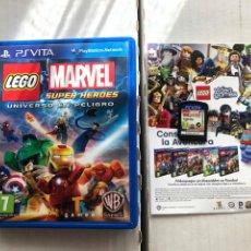 Videojuegos y Consolas PS Vita: LEGO MARVEL SUPER HEROES UNIVERSO EN PELIGRO PSVITA PS VITA KREATEN. Lote 259835735