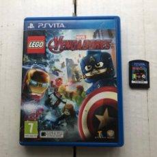 Videojuegos y Consolas PS Vita: LEGO MARVEL VENGADORES AVENGERS PSVITA PS VITA KREATEN. Lote 259836025