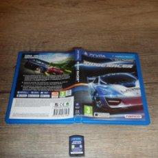 Videojuegos y Consolas PS Vita: PSVITA RIDGE RACER PAL ESP COMPLETO. Lote 260696295