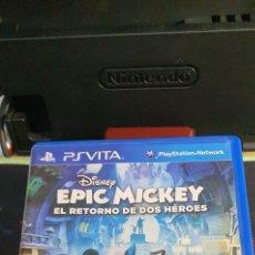 Videogiochi e Consoli: SONY PSVITA DISNEY EPIC MICKEY EL RETORNO DE DOS HÉROES. Lote 260712405