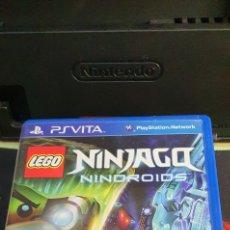Videojuegos y Consolas PS Vita: SONY PSVITA LEGO NINJAGO NINDROIDS. Lote 260712935