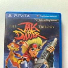 Videojuegos y Consolas PS Vita: JUEGO PSVITA PAL ESPAÑA JAK & DAXTER TRILOGY EN BUEN ESTADO. Lote 262035350