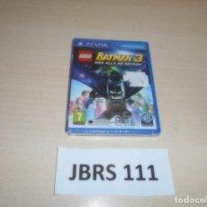 Videojuegos y Consolas PS Vita: PSP VITA - LEGO BATMAN 3 MAS ALLA DE GOTHAM , PAL ESPAÑOL , PRECINTADO. Lote 262052225