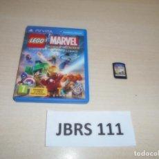 Videojuegos y Consolas PS Vita: PSP VITA - LEGO MARVEL SUPER HEROES - UNIVERSO EN PELIGRO , PAL ESPAÑOL , COMPLETO. Lote 262052550
