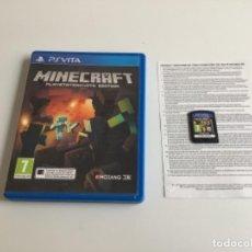 Videojuegos y Consolas PS Vita: HU. MINECRAFT PS VITA. Lote 263531385