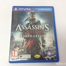 Videojuegos y Consolas PS Vita: ASSASSIN'S CREED III LIBERATION. Lote 263736955