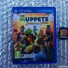 Videojuegos y Consolas PS Vita: JUEGO PS VITA LOS MUPPETS EN PERFECTO ESTADO. Lote 264682504