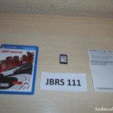 Videojuegos y Consolas PS Vita: PSP VITA - NEED FOR SPEED - MOST WANTED , PAL ESPAÑOL , COMPLETO. Lote 264752804