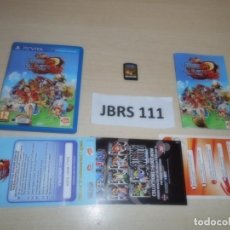 Videojuegos y Consolas PS Vita: PSP VITA - ONE PIECE UNLIMITED WORLD RED , PAL ESPAÑOL , COMPLETO. Lote 264752914