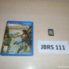 Videojuegos y Consolas PS Vita: PSP VITA - UNCHARTED - EL ABISMO DE ORO , PAL ESPAÑOL , COMPLETO. Lote 264752984