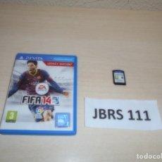 Videojuegos y Consolas PS Vita: PSP VITA - FIFA 14 LEGACY EDITION , PAL ESPAÑOL , COMPLETO. Lote 264753139