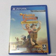 Videojuegos y Consolas PS Vita: TADEO JONES Y EL MANUSCRITO PERDIDO. Lote 267275979