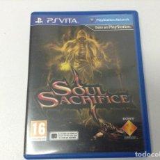 Videojuegos y Consolas PS Vita: SOUL SACRIFICE. Lote 269261843