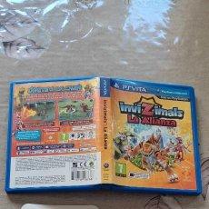 Videojuegos y Consolas PS Vita: INVIZIMALS LA ALIANZA + CARTAS AR SONY PS VITA. Lote 277639018
