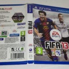 Videojuegos y Consolas PS Vita: FIFA 13 SONY PS VITA. Lote 277640158
