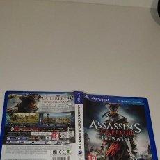 Videojuegos y Consolas PS Vita: ASSASSINS CREED 3 LIBERATION SONY PS VITA. Lote 277641513