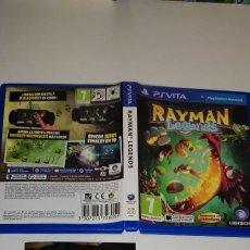 Videojuegos y Consolas PS Vita: RAYMAN LEGENDS SONY PS VITA. Lote 277641623