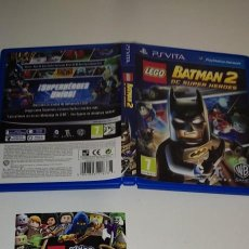 Videojuegos y Consolas PS Vita: LEGO BATMAN 2 DC SUPER HEROES SONY PS VITA. Lote 277641978