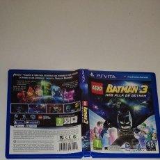 Videojuegos y Consolas PS Vita: LEGO BATMAN 3 MÁS ALLÁ DE GOTHAM SONY PS VITA. Lote 277642048