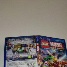 Videojuegos y Consolas PS Vita: LEGO MARVEL SUPER HEROES UNIVERSO EN PELIGRO SONY PS VITA. Lote 277642363