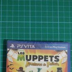 Videojuegos y Consolas PS Vita: MUPPETS SHOW AVENTURAS DE CINE SONY PS VITA PRECINTADO. Lote 277642723