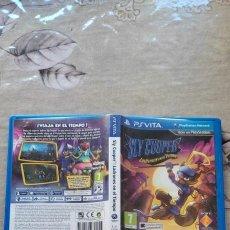 Videojuegos y Consolas PS Vita: SLY COOPER LADRONES EN EL TIEMPO SONY PS VITA. Lote 277642988