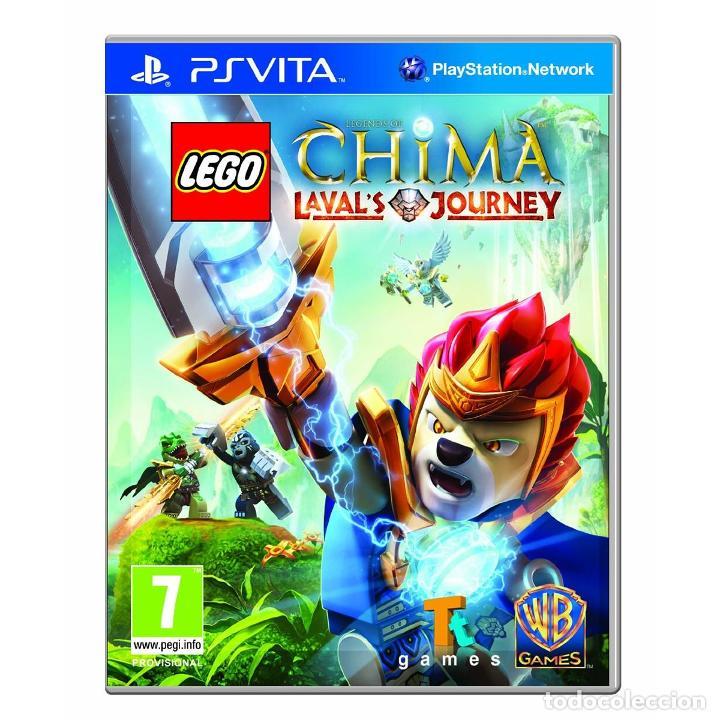 LEGO LEGENDS OF CHIMA: EL VIAJE DE LAVAL - PS VITA (Juguetes - Videojuegos y Consolas - Sony - PS Vita)