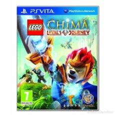 Videojuegos y Consolas PS Vita: LEGO LEGENDS OF CHIMA: EL VIAJE DE LAVAL - PS VITA. Lote 285831188