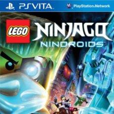Videojuegos y Consolas PS Vita: LEGO NINJAGO NINDROIDS - PS VITA. Lote 285831243