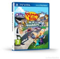 Videojuegos y Consolas PS Vita: PHINEAS AND FERB EL DIA DE DOOFENSHMIRTZ - PS VITA. Lote 285831283