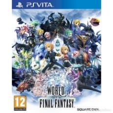 Videojuegos y Consolas PS Vita: WORLD OF FINAL FANTASY - PS VITA. Lote 285831398