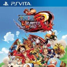 Videojuegos y Consolas PS Vita: ONE PIECE UNLIMITED WORLD RED - PS VITA. Lote 285831828