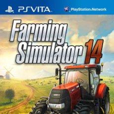Videojuegos y Consolas PS Vita: FARMING SIMULATOR 2014 - PS VITA. Lote 285831943