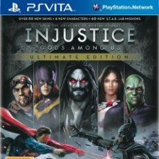 Videojuegos y Consolas PS Vita: INJUSTICE GODS AMONG US ULTIMATE EDITION - PS VITA. Lote 285831983