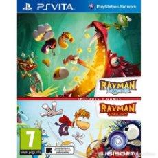 Videojuegos y Consolas PS Vita: COMPILACIÓN RAYMAN LEGENDS + ORIGINS - PS VITA. Lote 285832078