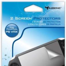 Videojuegos y Consolas PS Vita: PROTECTORES DE PANTALLA SUBSONIC - PSVITA. Lote 285832108