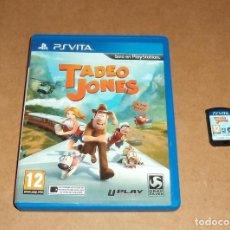 Videojuegos y Consolas PS Vita: TADEO JONES PARA SONY PSVITA / VITA. Lote 288190323