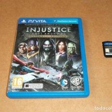 Videojuegos y Consolas PS Vita: INJUSTICE GOD AMONG US PARA SONY PSVITA / VITA. Lote 288190378