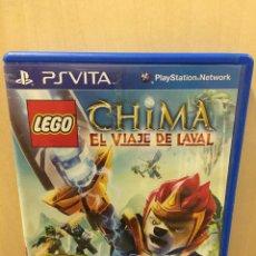Videojuegos y Consolas PS Vita: LEGO LEGENDS OF CHIMA: EL VIAJE DE LAVAL - PS VITA (2ª MANO - BUENO). Lote 288424408